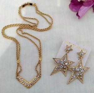 ⭐Necklace & Earrings Set🌠